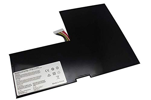 Bestome BTY-M6F MS-16H2 - Batería Compatible con MSI GS60 Ghost Pro 2PC 2PE 2PL 2QC 2QD 2QE 6QE;3K-097 4K-238 053 605;Pro-002 606;Ghost-003 607;PX60 Gaming Laptop PC GTX 970M (15,6 Pulgadas)