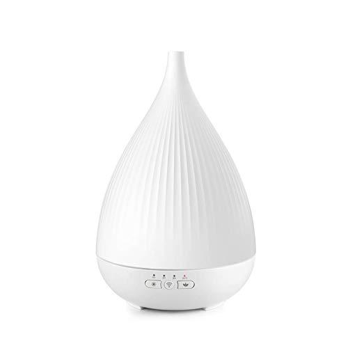 Difusor de Aroma humidificador ultrasónico de Polipropileno de 24 V de sobremesa silenciosa luz de la Noche de intervalo La definición Oficina Habitación Sala 1 Pieza 300ml