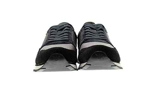 Emporio Armani 00697 Sneakers Herren braun 44