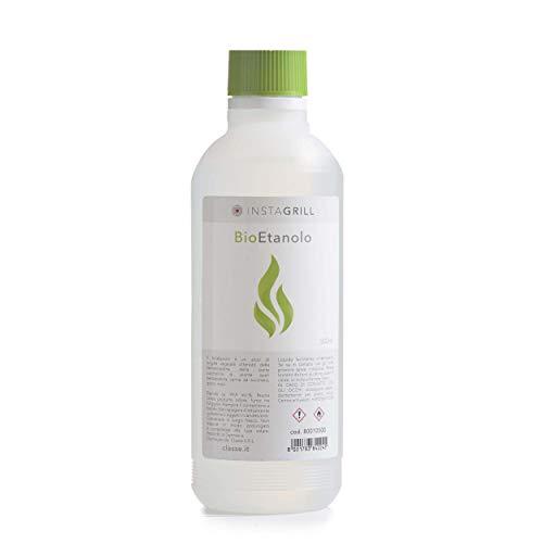 Gel combustibile inodore per barbecue di origine vegetale | Bioetanolo Accendifuoco 500Ml