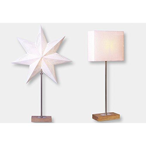 Bestseason StehlampeCombi-Pack beige 52,5 x 20 cm