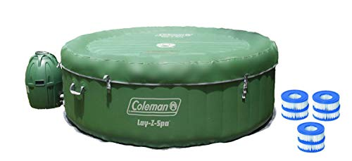 Coleman Lay-Z Spa with 6 Filter Spa Inflatable Hot Tub