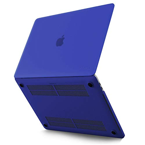 Kuzy MacBook Pro 16 inch Case 2019 Release A2141 Plastic Hard Shell for New 16 inch MacBook Pro Case with Touch Bar Soft Touch - Navy