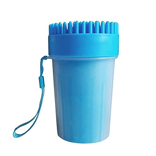 MAID Modisch Nützlich bei weichen Bürsten Fast war das Entfernen Reinigungswerkzeug Hund Pfotenreiniger Tasse Wiederverwendbare Massage Pet Supplies Pflegen Geeignet für Haustiere.