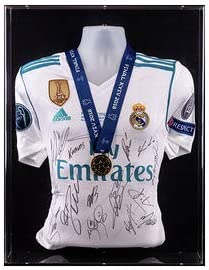 Real Madrid Team Signed Champions League Final Shirt Kiev 2018 Winners Medal Display product image