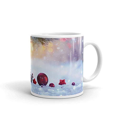 blitzversand Kaffee Weihnachtszeit Tee Tasse Becher Sprüche Lebkuchen Motiv 14 Cup Geschenk-Tasse 330ml aus Keramik MT14
