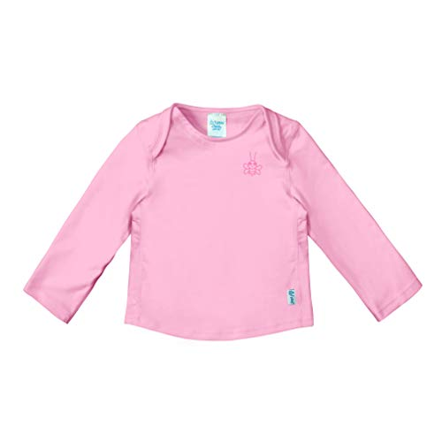 i play. by green sprouts Baby Girls Long Sleeve Rashguard |...