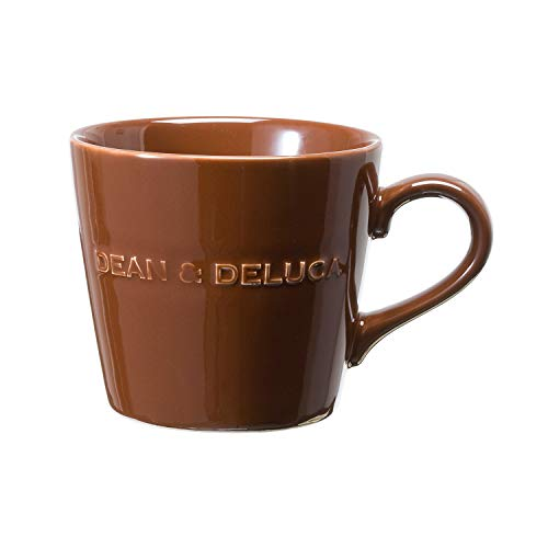 DEAN & DELUCA モーニングマグチョコレートブラウン マグカップ レンジ可 食洗器可 食器 コーヒー ティー 直径9.5×高8.5㎝