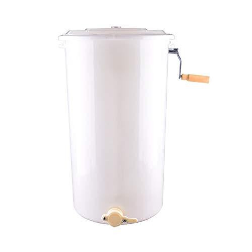 LTH-GD Honey Extractor 2 Frame Manual Plastic Bucket Honey Shaker Honey...