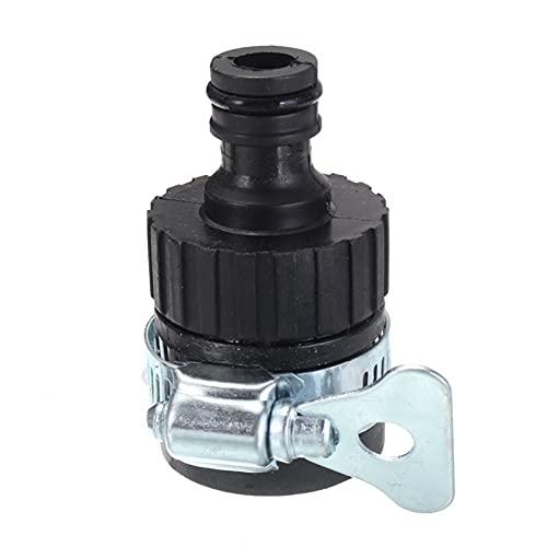 PPLAW Adaptador de Grifo de Agua de 2pcs Tap sin Rosca Toque Conector Conector de plástico Manguera de Montura Manguera de riego Grifo de jardín