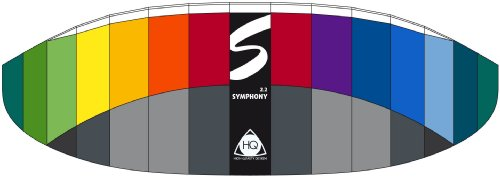 HQ Series Symphony Professional Kite (2.2 Rainbow)