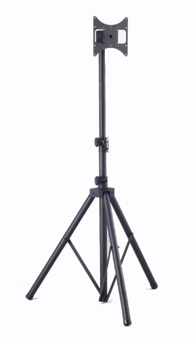 Elitech Steel Portable Plasma or LCD TV Tripod Stand for up to 46' Flat Panel TV, Height Adjustable....