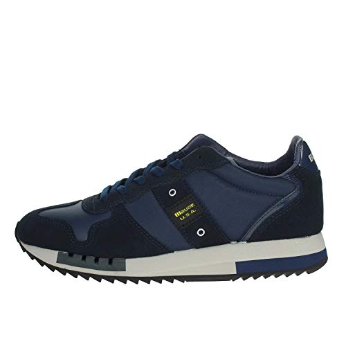 Blauer 9FQUEENS01/TAS Sneakers Uomo Blu 45