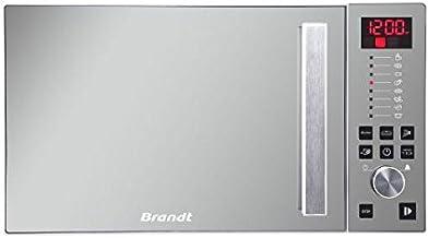 Brandt SE2616W Encimera 26L Espejo, Blanco - Microondas (Encimera, 26 L, Botones, Giratorio, Espejo, Blanco, Retirable, Izquierda)