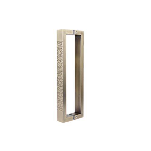 Door Handle Kitchen stainless steel glass wooden door bathroom bedroom furniture handle hole distance 380mm long 400mm