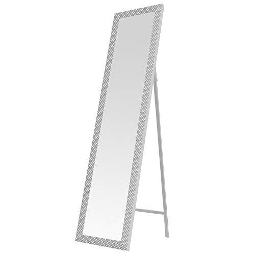 Espejo pie Moderno Blanco plástico Dormitorio 37