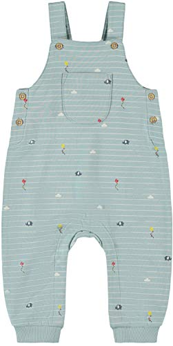 NAME IT Baby Jungen Latzhose Sommer-Overall NBMDEDUCKLING, Größe:86, Farbe:Sterling Blue