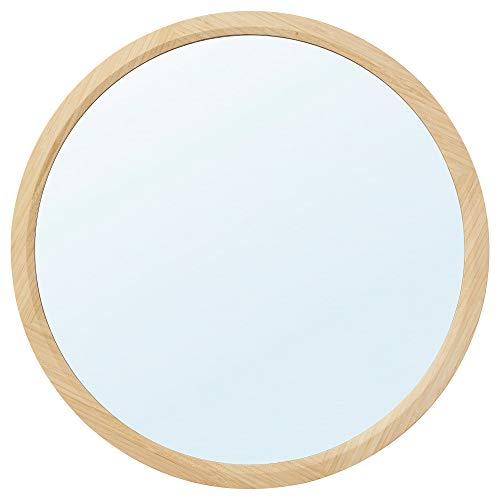 Espejo RÅGRUND Ø60 cm redondo/bambú