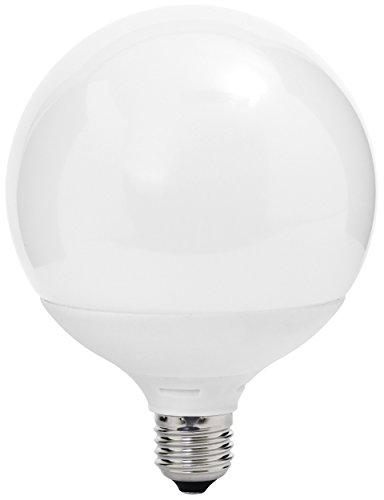 MÜLLER-LICHT 400050 A+, LED Lampe Globeform ersetzt 75 W, Plastik, 11 W, E27, weiß, 16,4 x 12 x 12 cm dimmbar