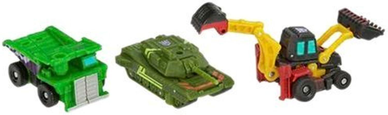 Transformers Classic Mini-Con 3-Pack - Demolition Team (Wideload, Sledge & Broadside) by Hasbro
