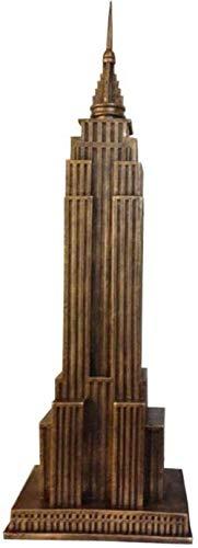 Ertyuk-Decor Statuen Dekoartikel & Figur Skulpturen Figuren Architekturskulptur Modell Empire State Building Modell Architektonische Kunst Schnitzen Us Capitol Collection Kreative Dekoration