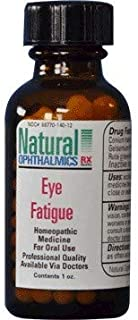 Eye Strain-Fatigue Pellets/Oral Homeopathic 1oz by Natural Ophthalmics