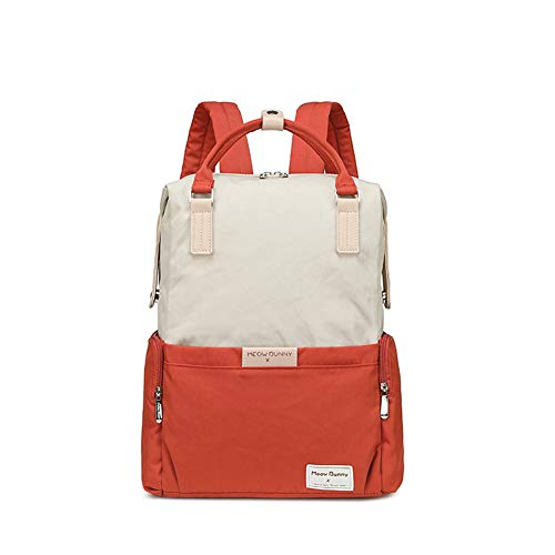 Middelbare school Student Rugzak, Grote capaciteit Canvas Daypack/16 Inch Laptop Bookbag voor Gril