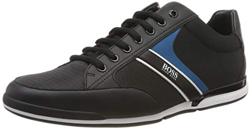 BOSS Saturn_Lowp_nyrb, Herren Sneaker, Schwarz (Black 004), 40 EU (6 UK)