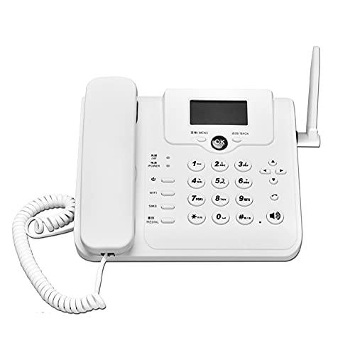 ELKeyko 4G LTE/WiFi/enrutador inalámbrico CPE 4G 3G Modem Mobile Voice Llamada enrutador Hotspot Banda Ancha 4G V Olte WiFi Router Wireless Landline