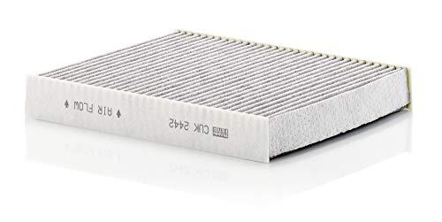 Original MANN-FILTER Innenraumfilter CUK 2442 – Pollenfilter mit Aktivkohle – Für PKW