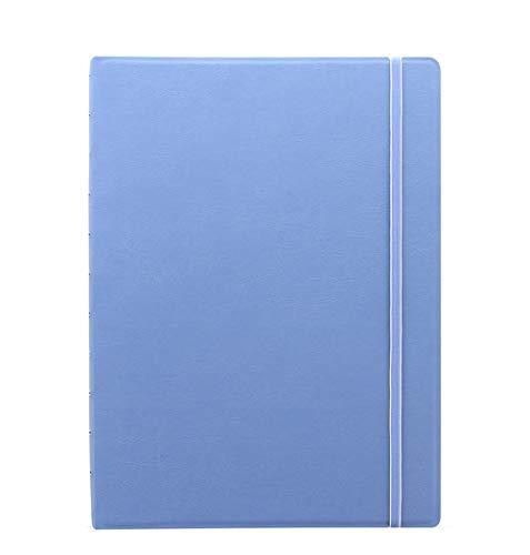 Filofax Notebook Classic Pastels A4 Vista Blue Blau Notizbuch auffüllbar Kunstleder 115098