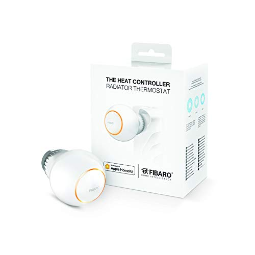 FIBARO HomeKit The Heat Controller Head / iOS Bluetooth Heizungsthermostat, Heizkörperthermostat, FGBHT-001