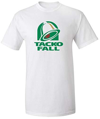 White Boston Tacko Bell Logo T-Shirt Adult