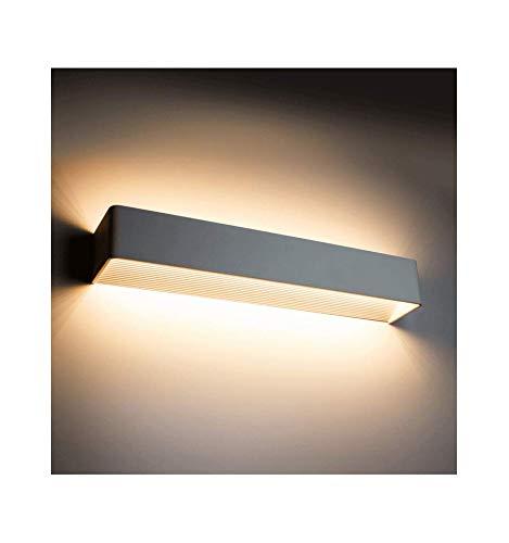 KOSILUM - Applique murale LED design Quadra 18W - 53 cm - Lumière Blanc Chaud Eclairage Salon Chambre Cuisine Couloir - 18x1W - 1620 lm - LED intégrée - IP20