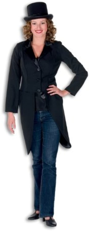 High Quality Ladies Black Tailcoat