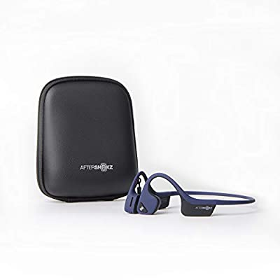 AfterShokz Trekz Air Open-Ear Wireless Bone Conduction Headphones with Portable Storage Case