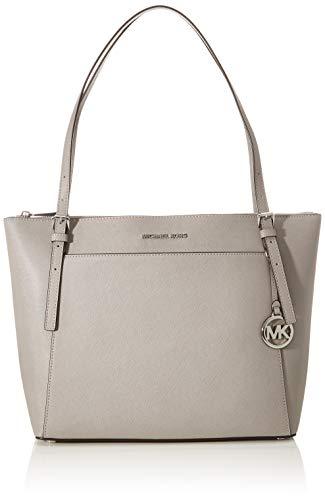 Michael Kors Womens Voyager Handtasche, Perlgrau, Einheitsgröße