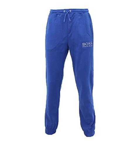 Hugo Boss Hombres Abierto Azul Athleisure Chándal Bottoms Jogging Pantalones Pantalones HADIKO 50399377