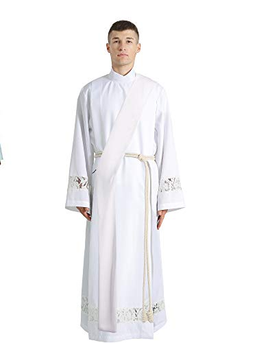 Ivyrobes Unisex Adults Deacon Stole White