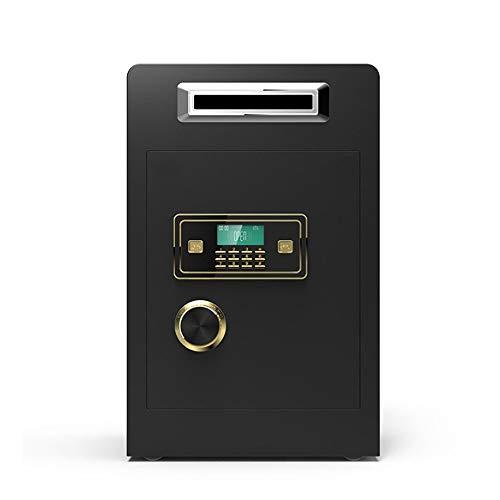 YAzNdom Safes Box Digitaal toetsenbord kast-veilige stalen vergrendelbout wachtwoord Plus-Key-instelling voor thuiskantoor hotels voor thuiskantoor en hotels