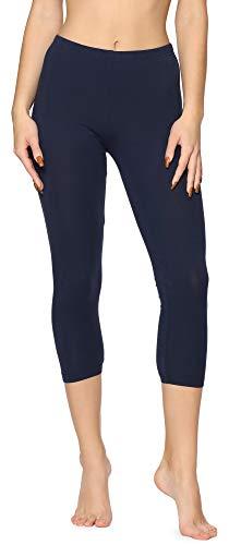 Merry Style Leggins Mallas Pantalones 3/4 Ropa Deportiva Niña MS10-409 (Azul Marino, 176)