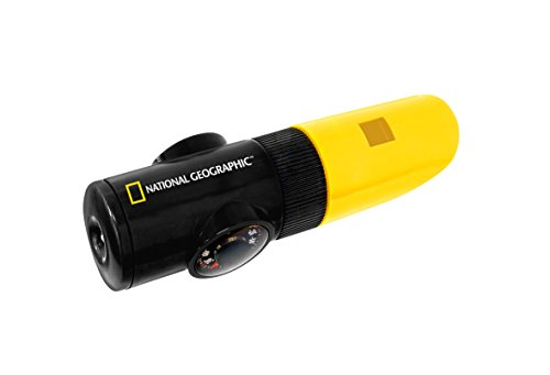 National Geographic Sifflet Multifonction 6en1