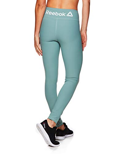 Reebok Women's Legging Full Length Performance Compression Pants - Chinois Green Tree, Large