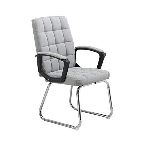 XUzGchair XUoffice Stühle for Jugendliche, Gemütlich Durable Sessel Schüler-Computer-Schreibtisch-Stuhl Firma Durable Bürostühle Gaming Entspannen Sie Sich (Color : Gray, Size : 46 * 45 * 94CM)