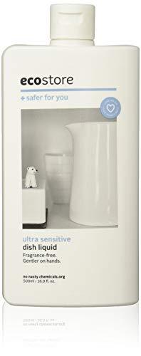 ecostore(エコストア) ディッシュウォッシュリキッド 【無香料/ウルトラセンシティブ】 500ml 食器洗い用 洗剤