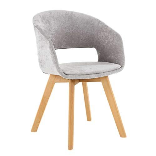 LINGZHIGAN Chaise Chaise de bureau minimaliste moderne Chaise de bureau créative Chaise de maquillage pour le dos de la maison (Couleur : A)