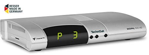 TechniSat DIGIPAL ISIO HD - DVB-T2 Receiver (PVR Aufnahmefunktion, HDTV, kartenloses Irdeto-Zugangssystem für freenet TV, App-Steuerung, S/PDIF, HbbTV/RedButton, SD-Kartenleser, 12 Volt) silber