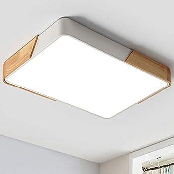 LED Deckenleuchte Deckenlampe Dimmbar Fernbedienung warmweiß Wohnzimmerlampe