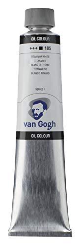 Tar Lenth Van Gogh oil paint 200ml Titanium White 411 193 (japan import)