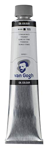 Tar Lenth Van Gogh oil paint 200ml Titanium White 411 193 (japan import)
